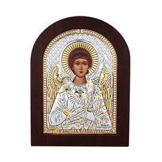 Акция на Икона Ангел Хранитель с серебром и позолотой в деревянной рамке 000140105 от Zlato
