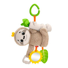 Акция на Подвеска-игрушка Fisher-Price Ленивец (FXC31) от Будинок іграшок