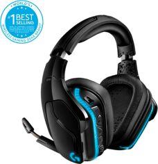Акция на Наушники Logitech Wireless Gaming Headset G935 Black (981-000744) от Rozetka