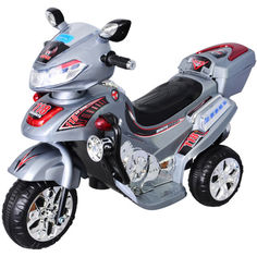 Акция на Электромобиль-мотоцикл Bambi F928 Серый (M0564/F928-2) от Allo UA
