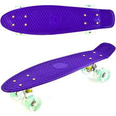 Акция на Пенни борд (Penny board) Best Board SK-30470-4 фиолетовый от Allo UA