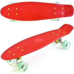 Акция на (Penny board) Best Board SK-30470-5 красный от Allo UA