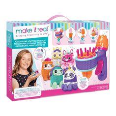 Акция на Набор для вязания амигуруми Make it real Замечательные зверушки (MR1513) от Будинок іграшок