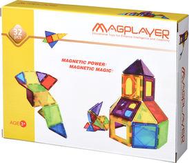 Акция на Конструктор магнитный Magplayer 32 элемента (MPL-32) от Rozetka