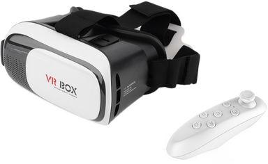 Акция на Очки виртуальной реальности XoKo Glasses 3D VR-001 Black/White + XOKO VR пульт дистанционного управления (XK3D-VR001-RC) от Rozetka