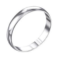 Акция на Обручальное серебряное кольцо 000133404 22.5 размера от Zlato