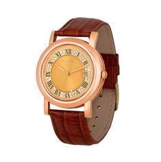 Акция на Наручные часы из золота с фианитами 000135472 от Zlato