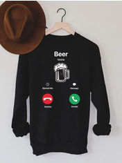 Акция на Свитшот Love&Live Beer mobile LL3-02136M.01P-20 3XL Черный (LL2000000177328) от Rozetka