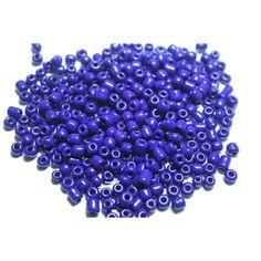 Акция на Бисер  YIC 100 грамм (КРУПНЫЙ 6/0) 47 синий от Allo UA
