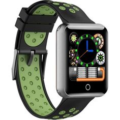 Акция на UWatch X10 Fitness Black/Green от Allo UA