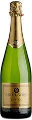 """Акция на Вино игристое Arte Latino Cava """"Brut"""" (сухое, белое) 0.75л (BDA1SH-SGC075-001) от Stylus"""