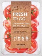 Акция на Tony Moly Fresh To Go Mask Sheet Tomato Освежающая тканевая маска с томатами 22 g от Stylus