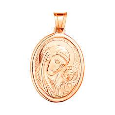 Акция на Золотая ладанка Богородица с Младенцем 000015131 от Zlato