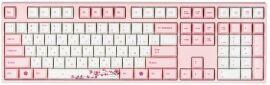 Акция на Игровая клавиатура Varmilo VA108M Sakura Cherry MX Blue (VA108MC2P/WP88RA) от MOYO