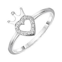Акция на Серебряное кольцо с фианитами 000144873 16 размера от Zlato