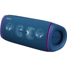 Акция на Портативная акустика SONY SRSXB43L Blue от Foxtrot