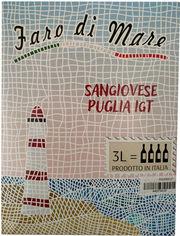 Акция на Вино Faro Di Mare - Vino Sangiovese Puglia IGT сухое красное 3 л 12% (8003625020738) от Rozetka