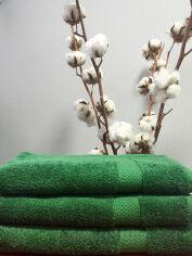 Акция на Полотенце махровое Nostra 550 Green зеленое 70х140 см от Podushka