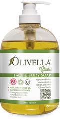Акция на Жидкое мыло для лица и тела Olivella на основе оливкового масла 500 мл  (764412260000) от Rozetka