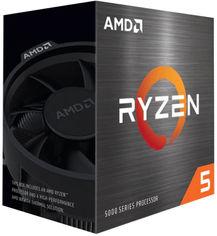 Акция на Процессор AMD Ryzen 5 5600X 3.7GHz/32MB (100-100000065BOX) sAM4 BOX от Rozetka