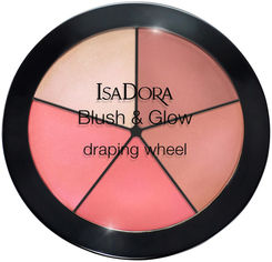 Акция на Румяна для лица Isadora Blush & Glow Draping Wheel 55 peachy rose pop 18 г (7317851187556) от Rozetka