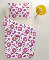 Акция на Комплект постельного белья Cosas Sweet Donut Beige 110х140 (4822052057582) от Rozetka