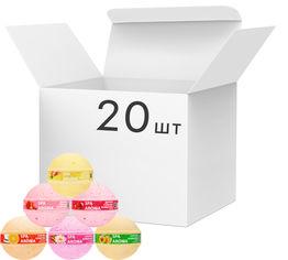 Акция на Упаковка солевых бомбочек для ванны Bioton Cosmetics Микс 75 г х 20 шт (4820026154053) от Rozetka