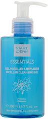 Акция на Мицеллярный гель MartiDerm Essentials Micellar Cleansing Gel Очищающий 200 мл (8437000435891) от Rozetka