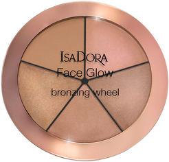 Акция на Хайлайтер для лица Isadora Face Glow Bronzing Wheel палетка 52 beach glow 18 г (7317851187525) от Rozetka