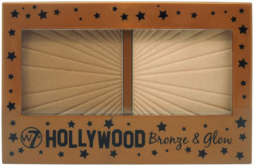 Акция на Хайлайтер для лица W7 Hollywood Bronze & Glow 13 г (5060406140729) от Rozetka