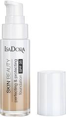 Акция на Тональный крем Isadora Skin Beauty совершенствующая и защитная основа 06 natural beige 30 мл (7317852143063) от Rozetka