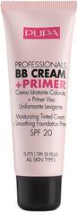 Акция на Тональный крем Pupa ВВ Cream + Primer Tone-Cream для всех типов кожи №001 nude 50 мл (8011607191260) от Rozetka