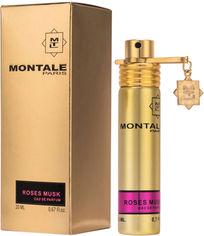 Акция на Дымка для волос унисекс Montale Roses Musk Hair Mis 20 мл (ROZ6400100292) от Rozetka