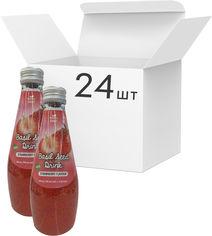 Акция на Упаковка напитка Magic Fruit Вкус клубники с семенами базилика 0.29 л х 24 бутылки (8859022407524) от Rozetka