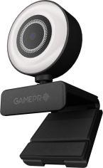 Акция на Веб-камера GamePro Vision Black FullHD (GC1352) от Rozetka