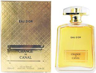Акция на Парфюмированная вода для женщин Fragrance World Change De Canal Eau D'Or 100 мл (6291106485684) от Rozetka
