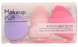 Акция на Набор бьюти-блендеров для макияжа Etude House Big Cover Mini Blender Kit PRO 3 шт (8809587405282) от Rozetka