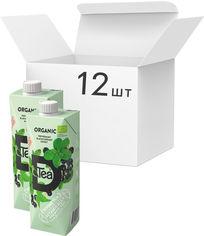Акция на Упаковка чая мятного органического Divine Tea с соком черной смородины 500 мл х 12 шт (4751029260352) от Rozetka