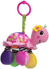 Акция на Навесная игрушка Infantino с зеркалом Сияющая черепашка (0773554050530) от Rozetka
