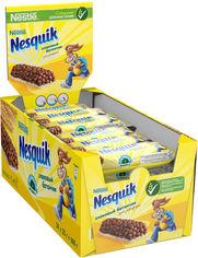 Акция на Упаковка батончиков NESTLE NESQUIK с цельными злаками, какао и витамином Д 25 г х 24 шт (3387390409864) от Rozetka