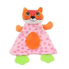 Акция на Мягкая игрушка с прорезывателем Лиса Dolery (48350) от Allo UA