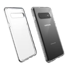 Акция на Чехол прозрачный противоударный Speck Presidio Clear для Samsung Galaxy S10 Plus от Allo UA