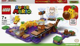 Акция на Конструктор LEGO Super Mario Дополнительный уровень Ядовитое болото гусеницы (71383) от Будинок іграшок