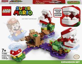 Акция на Конструктор LEGO Super Mario Дополнительный набор «Загадочное испытание растения-пираньи» (71382) от Будинок іграшок