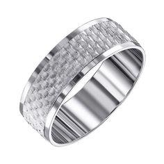 Акция на Обручальное серебряное кольцо 000133408 17.5 размера от Zlato