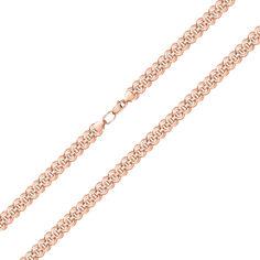 Акция на Браслет из красного золота фантазийного плетения, 4,5 мм 000143815 17.5 размера от Zlato