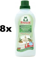 Акция на Упаковка кондиционера-ополаскивателя Frosch Миндальное Молочко 750 мл х 8 шт (4009175093288) от Rozetka