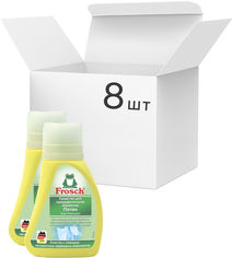 Акция на Упаковка пятновыводителя для текстиля Frosch 75 мл х 8 шт (4001499059575) от Rozetka