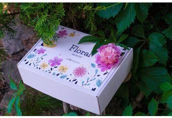 Акция на Подарочный набор Экокуб Floral Волшебный сад от Stylus