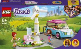 Акция на Конструктор LEGO Friends Электромобиль Оливии (41443) от Будинок іграшок